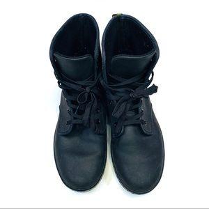 Dr. Marten size 8 SHOREDITCH Black Laceup Boots